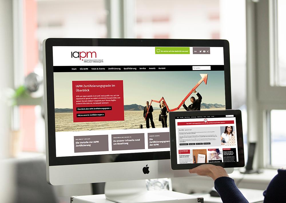 Moderne, responsive Website (mehrsprachig) mit vielen interaktiven Inhalten wie Landingpages, Blog, FAQ, Anmeldeformularen, Newsletteranmeldung, uvm.