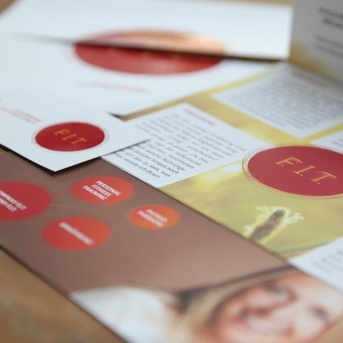Corporate Design für Personal Trainerin Gloria Kramp