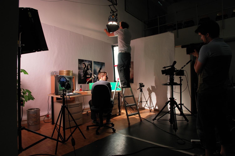 Für die Animation wurde im Studio ein Zimmer gebaut