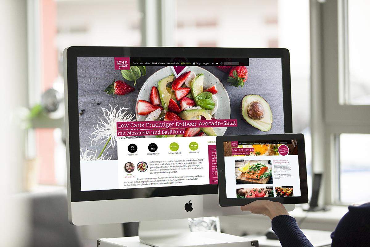 Website-Referenz: lchf-gesund.de