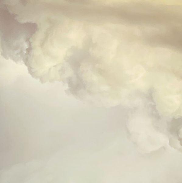 Weißes Wolkengebilde